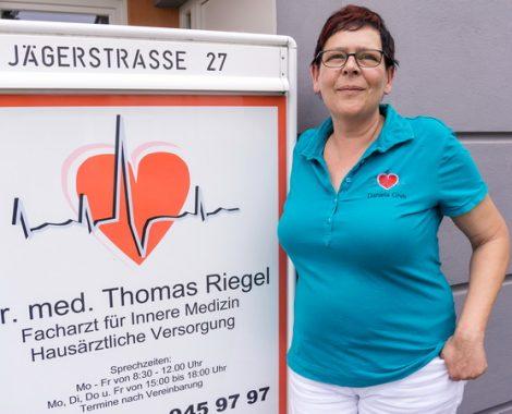 Dr. med. Thomas Riegel - Maintal - Daniela Greh - Medizinische Fachangestellte