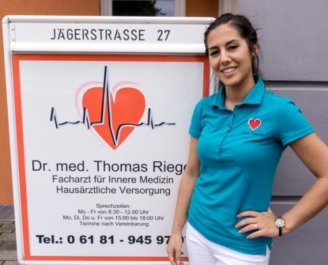 Dr. med. Thomas Riegel - Maintal - Ebru Yankar - Medizinische Fachangestellte